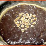 Crostata Brownies al farro e noci