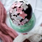 L'Uovo di Cioccolato fondente decorato
