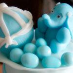 Torta Elefantino per un Battesimo