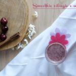 Smoothie ciliegie e mandorle
