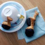 Clafoutis pesche e cioccolato