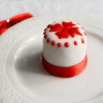 Minicake segnaposto al profumo di Natale