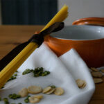 Minestrone fave, piselli e carciofi