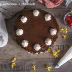 Drip cake amarene e cioccolato