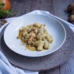 Gnocchi di patate con melograna e noci