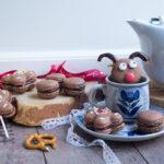 Macarons Rudolph al pan di zenzero