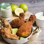 Pollo fritto e Maionese senza uova