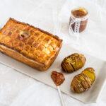Sandwich uova e ravanelli con pane tramezzino homemade