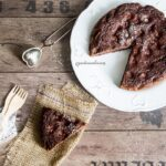 Torta senza glutine cacao e frutti rossi