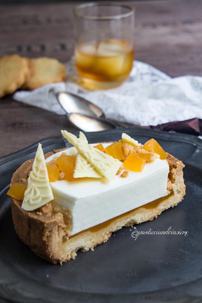 panna cotta vaniglia e liquirizia