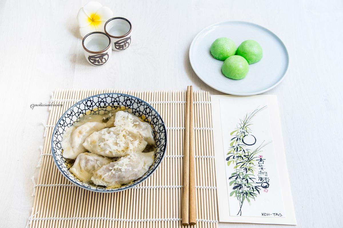 gyoza mochi giappone