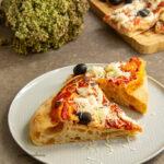 Pizza in teglia a lunga lievitazione