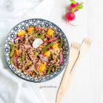 Insalata Quinoa e Melone
