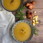 Zuppa di ceci e topinambur