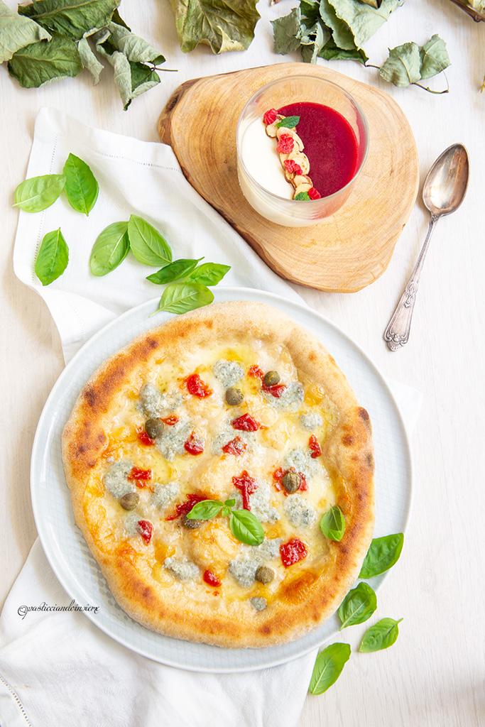 pizza gourmet dessert