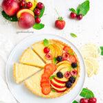 Crostata con curd al Limone e frutta fresca